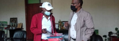 SMU receives First Aid Kits and reference materials
