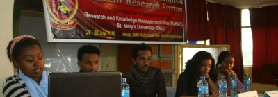 Student Research Forum Held