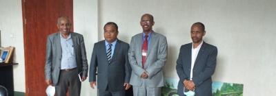 Indian Ambassador to Ethiopia visits St. Mary's University