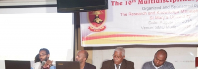 The 10th Multi-disciplinary Seminar Held