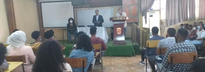 Orientation Sessions Held for Freshman Students